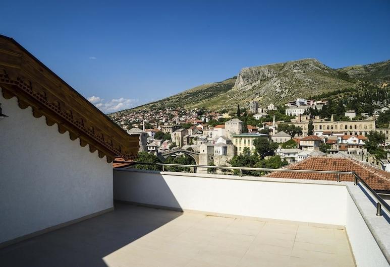 Hotel Kapetanovina, Mostar, Herbergi með tvíbreiðu rúmi - verönd, Verönd/bakgarður