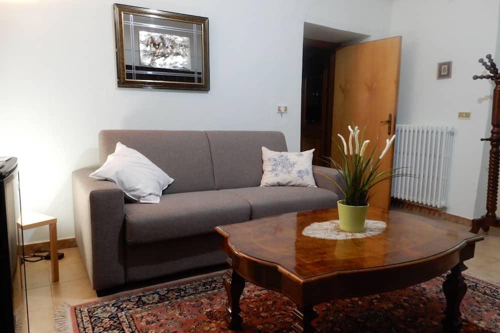 Tradicionāls dzīvokļnumurs, divas guļamistabas, nesmēķētājiem, virtuve - Dzīvojamā istaba