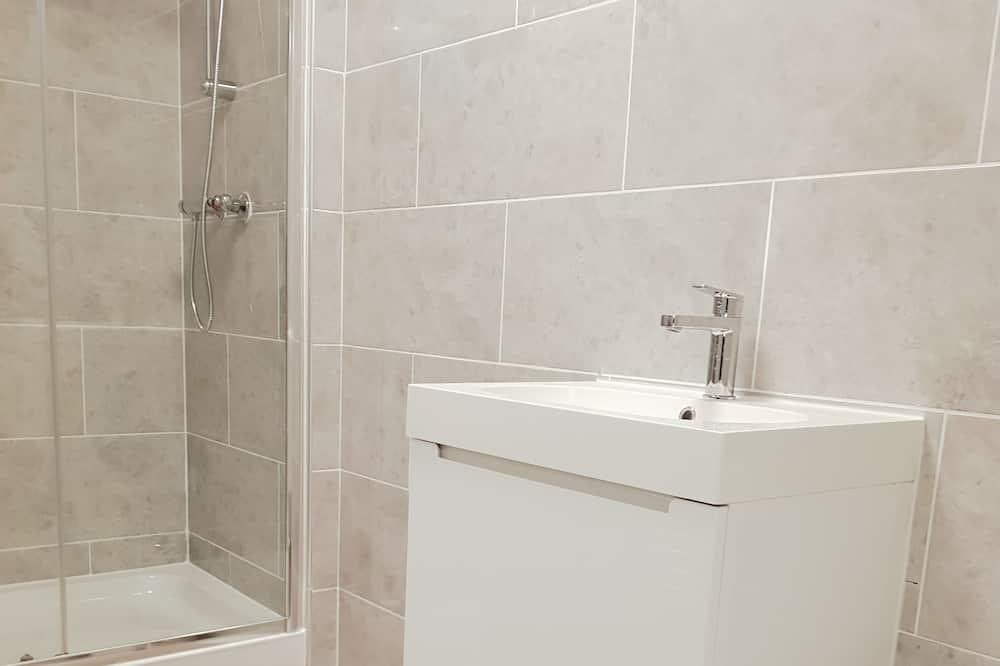 Doppelzimmer, Gemeinschaftsbad (Terrace) - Badezimmer