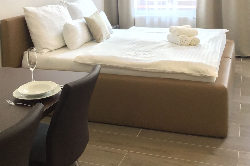 Apartament typu Comfort, widok na miasto - Pokój