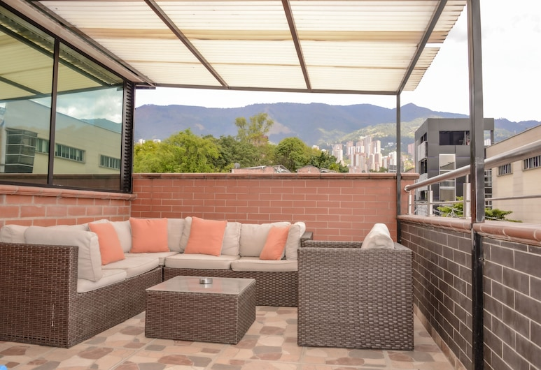 The 9's Aparta Hotel, Medellin, Lägenhet - 2 sovrum (402), Vardagsrum
