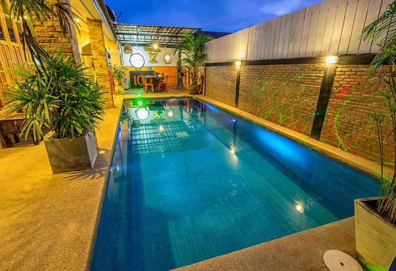 華欣波佳泳池別墅酒店, Hua Hin, 3-Bedroom Pool Villa , 陽台