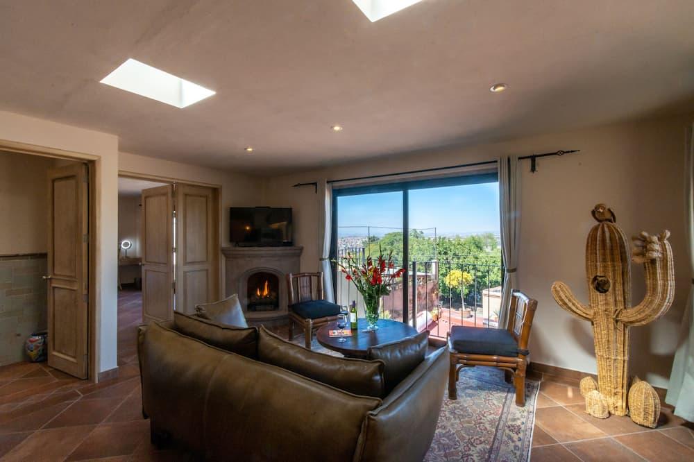 Panoramic Ρετιρέ - Καθιστικό