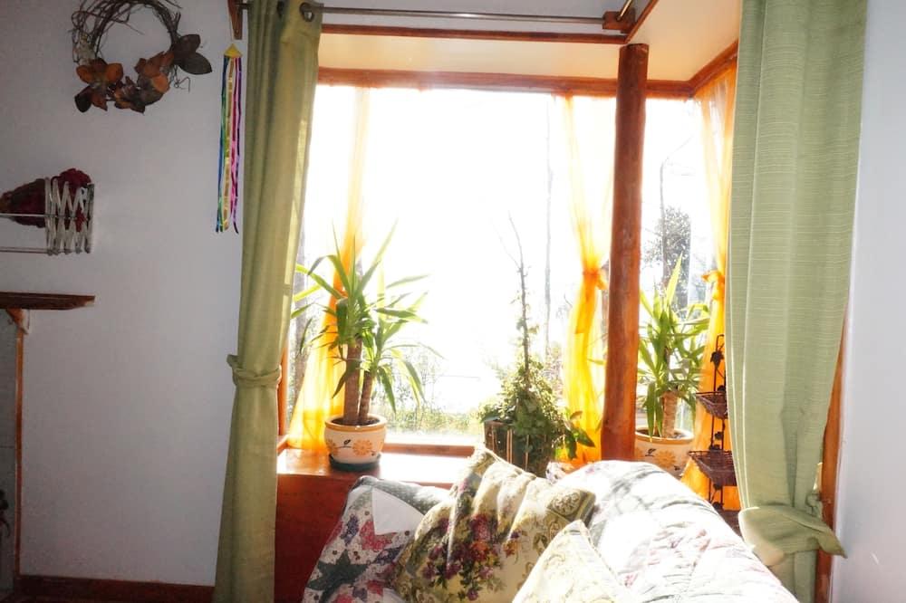 Standard-Ferienhütte, 2Schlafzimmer - Wohnbereich