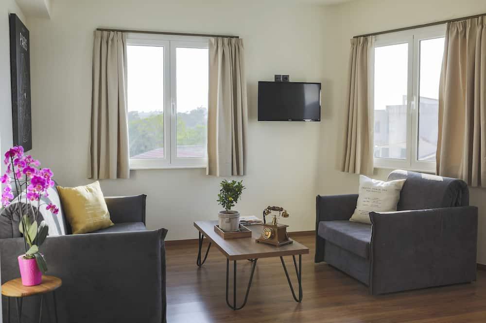 Paaugstināta komforta luksusa numurs (Temple View) - Dzīvojamā zona