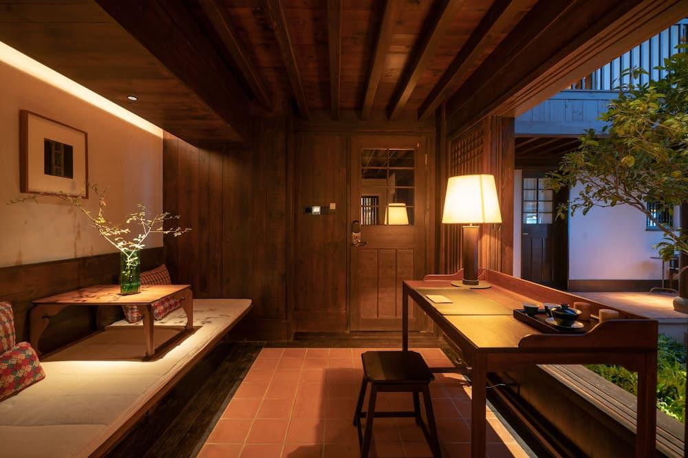 Luksus-dobbeltværelse - Opholdsområde