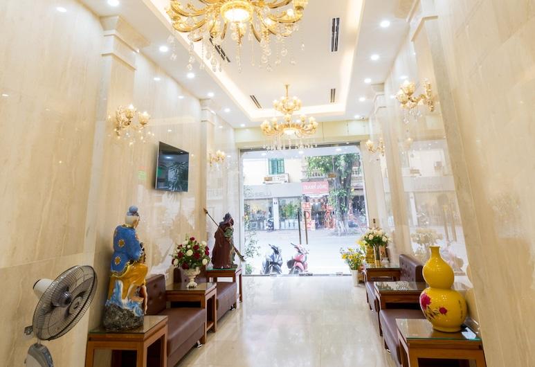 Viet Phuong hotel, Ханой, Лаунж в вестибюле