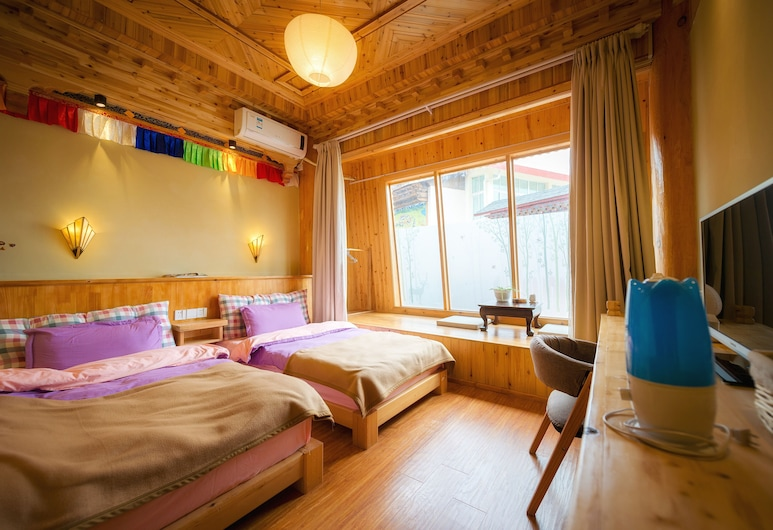 Huksum House, Deqin, Standard Double or Twin Room, Guest Room