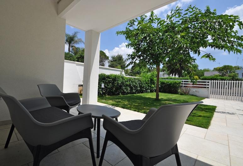 Villetta Astor Beach, Ugento, Apartment, 1 Bedroom, Terrace/Patio