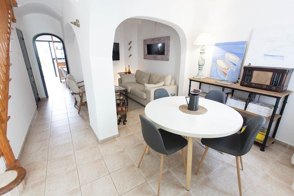 Appartement, 4 chambres, terrasse - Coin séjour
