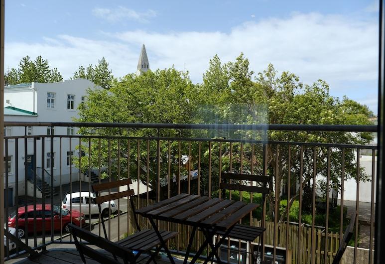 Saga Studios by ylma, Reikiavik, Estudio, 1 habitación, balcón, Terraza o patio