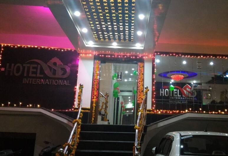 Hotel SD International, Agra, Hotellinngang