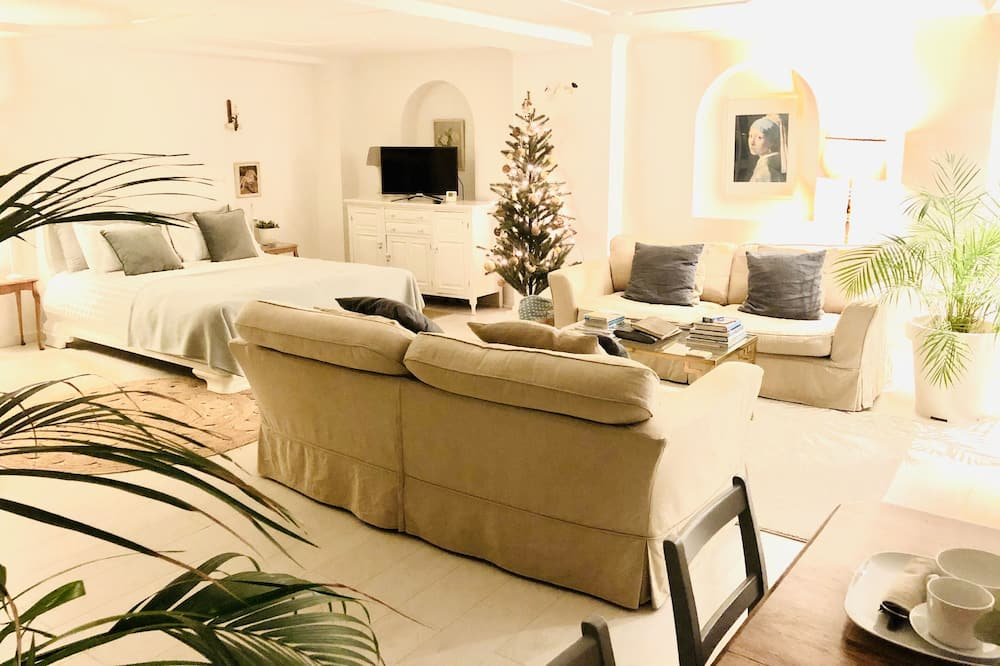 Deluxe Apartment (Adults Only) - Ruang Tamu