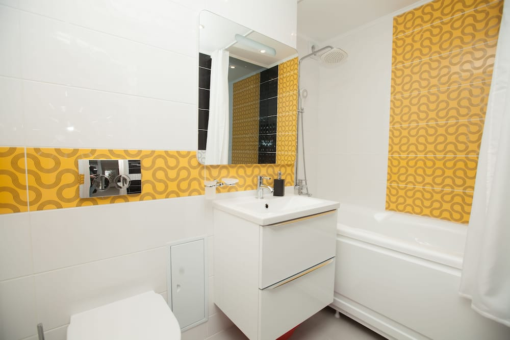 Apartment, Sauna - Badezimmer