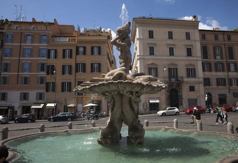 Triviho Hotel, Roma, Esterni