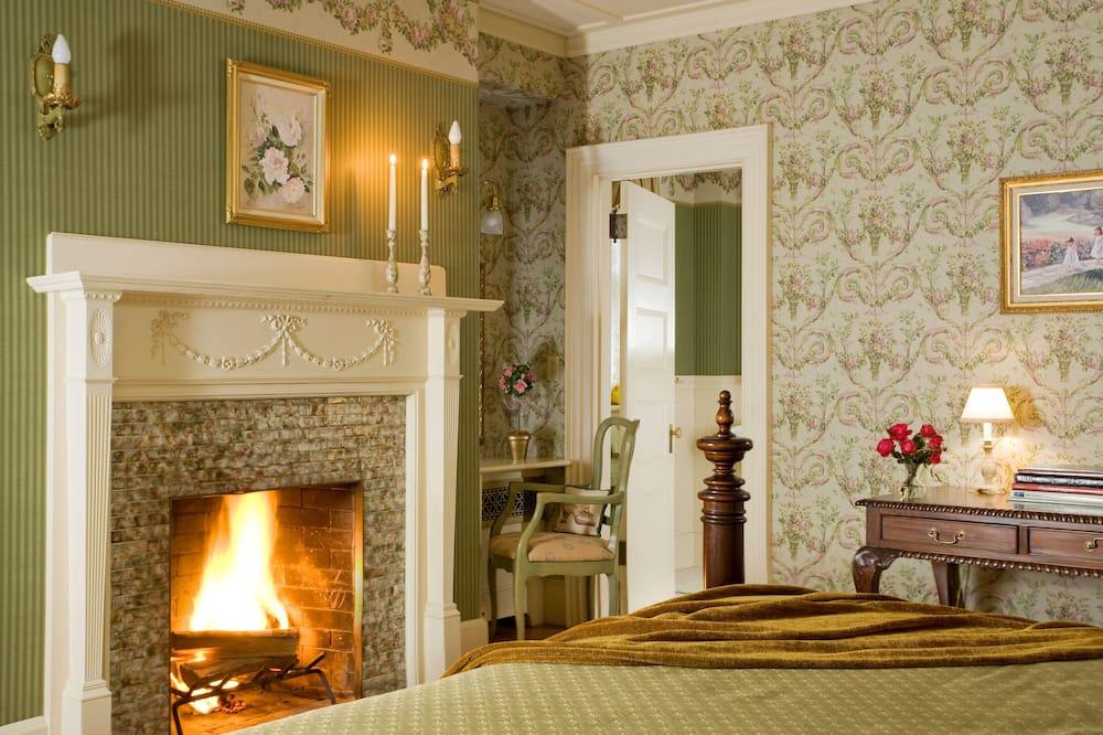豪華客房, 1 張特大雙人床, 私人浴室 (Room 1) - 客廳