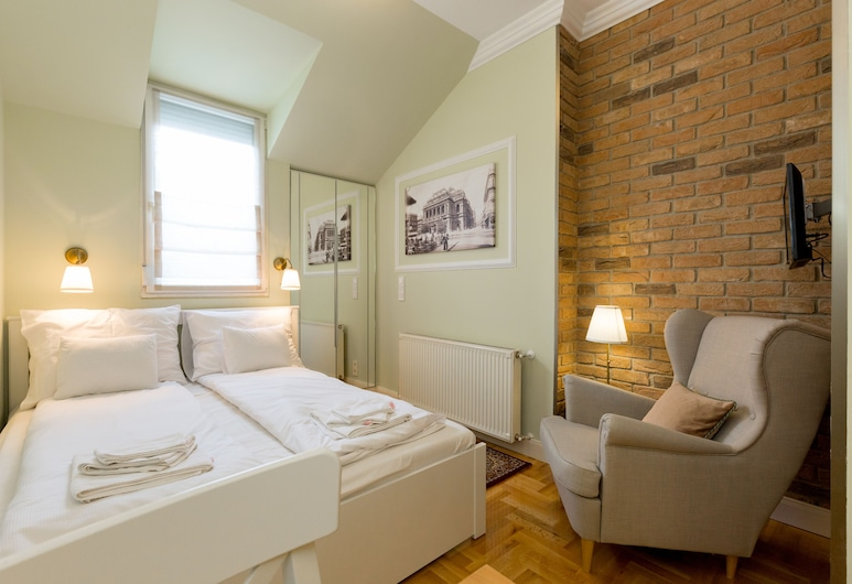 Roland Apartments, Budapešť, Štandardné štúdio, 1 veľké dvojlôžko, Izba