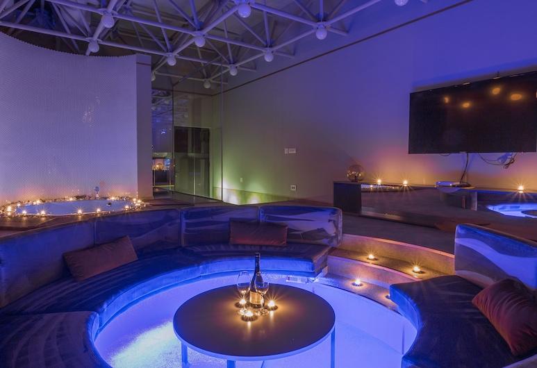 Avangarda Suites, Belgrad, Superior Çatı Katı Süiti (Penthouse), Birden Çok Yatak, Şehir Manzaralı, Oda