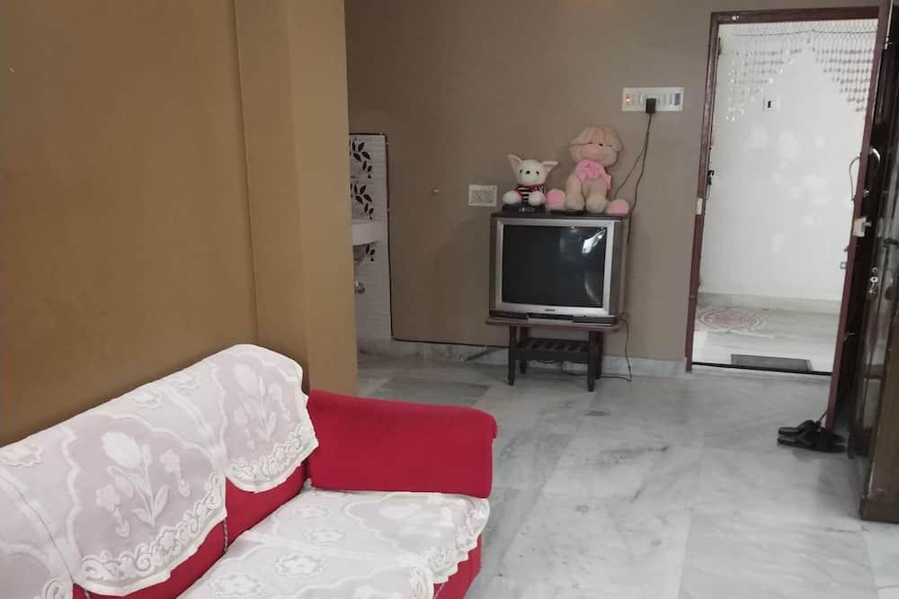 Wspólny pokój wieloosobowy standardowy, 4 sypialnie - Salon