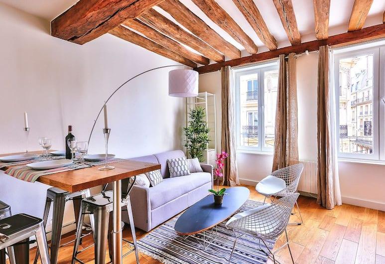 Amazing Apartment Close to Notre Dame, Παρίσι, Διαμέρισμα (1 Bedroom), Περιοχή καθιστικού