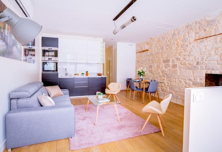 Design Apartment - One Bedroom Flat in the 5th Arrondissement, Paryż, Apartament, 1 sypialnia (2 Bedrooms), Powierzchnia mieszkalna