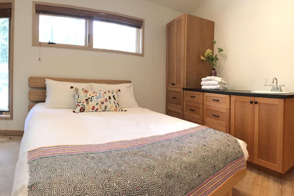 Quarto Duplo Económico, 1 cama queen-size - Casa de banho