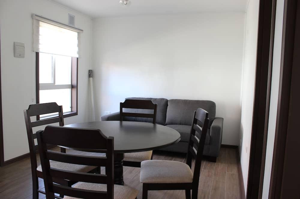 Departamento, 3 habitaciones, planta baja - Servicio de comidas en la habitación