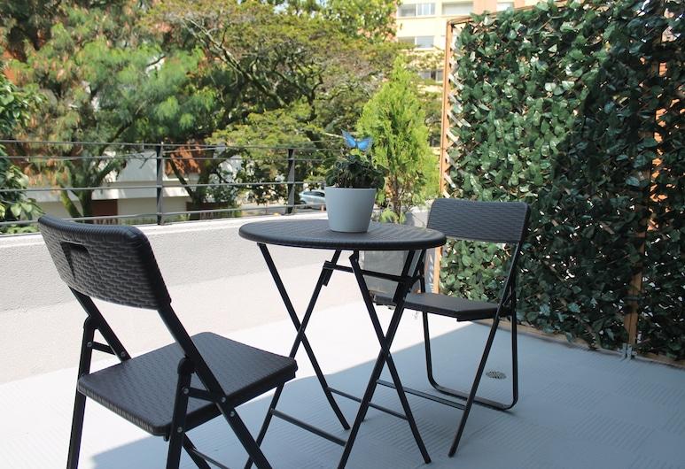 Hotel Poma-Rosa, Medellin, Habitacion Suite, Terrass