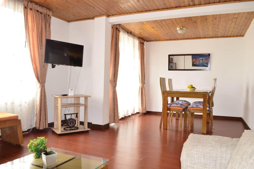 Classic apartman, 3 hálószobával, konyha, torony - Vendégszoba