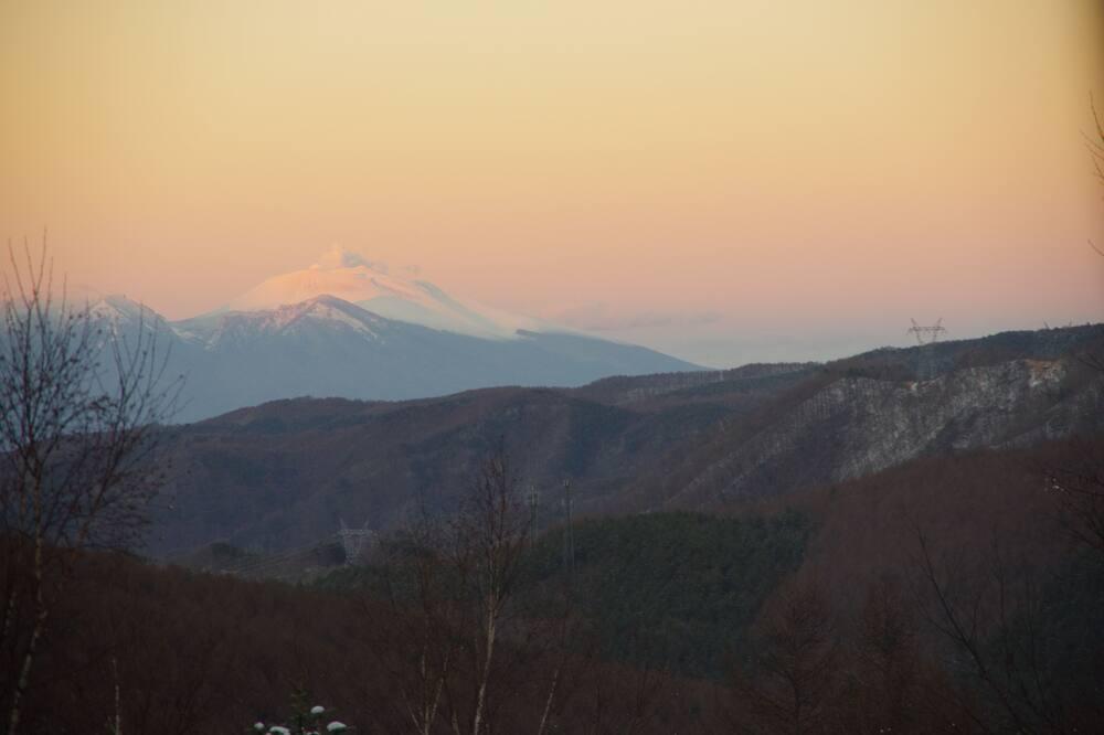 Kamer (Japanese Western Style) - Uitzicht op bergen