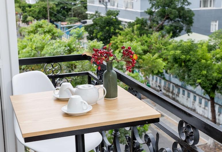 小豬之家青年旅舍, 峴港, 豪華雙人房, 露台