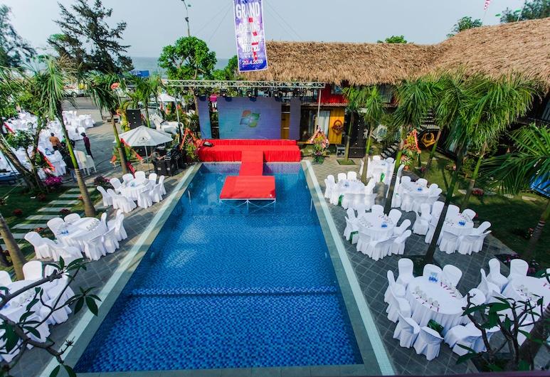 Why Not Hostel, Dong Hoi, Vonkajší bazén