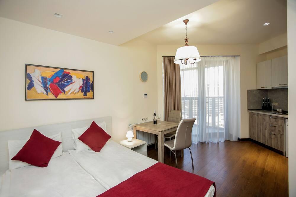 Studio, 1 Bedroom - Living Area