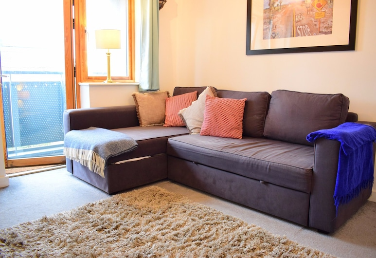 1 Bedroom Apartment In Greater London, London, Wohnbereich