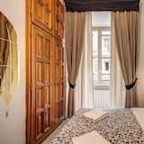 Kambarys (1 dvigulė / 2 viengulės lovos) - Vaizdas iš svečių kambario