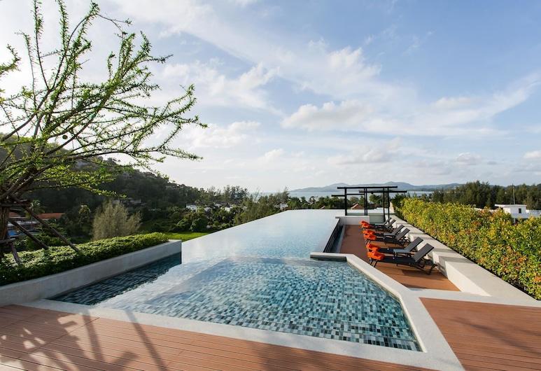 蘇林海灘無邊際泳池 1 房酒店, Choeng Thale, 天台泳池