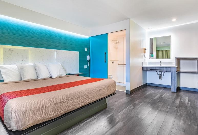 Solo Motel - Broadway, Los Angeles, Kamer, 1 kingsize bed, Kamer