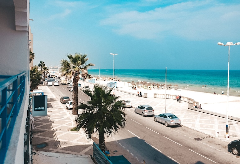 Hotel Nour Justinia , Sousse, Double or Twin Room, Sea View, Beach/Ocean View