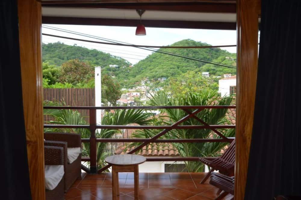 Signature stúdió lakosztály, 1 hálószobával, erkély, kilátással az óceánra - Erkély