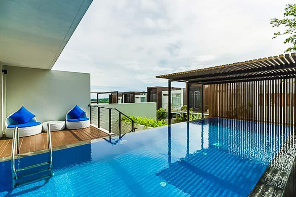 Villa superior, 2 habitaciones, piscina privada - Piscina privada