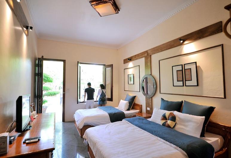 Tam Coc Gecko Garden Hotel, Hoa Lu, חדר לשלושה, נוף לגן, חדר אורחים