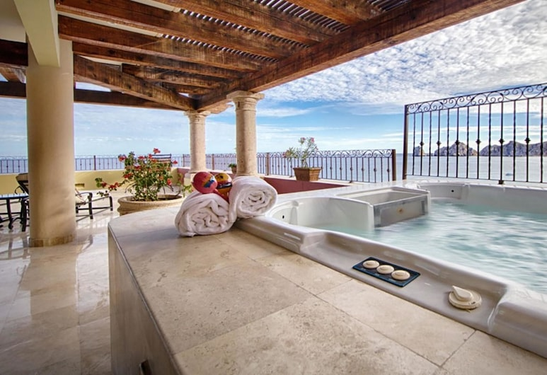 La Estancia Penthouse 3502, Cabo San Lucas, Outdoor Spa Tub