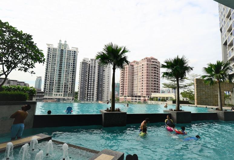 WT Stay Swiss Garden Residences KL, Kuala Lumpur, Vonkajší bazén