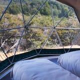 Tienda de campaña/carpa Deluxe, 3 camas individuales, baño privado (Domo Triple) - Vista desde la habitación