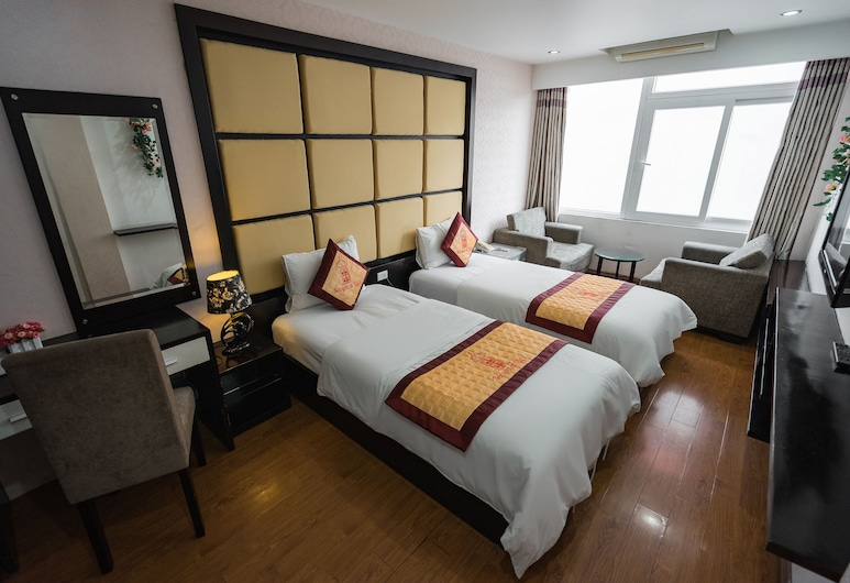 See you at Lily's Hostel, Hanoi, Deluxe Twin Room, Guest Room