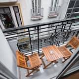 Pokoj Deluxe s dvojlůžkem, balkon - Balkón