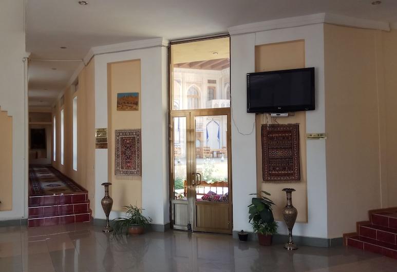 Caravan, Bukhara, Hallway