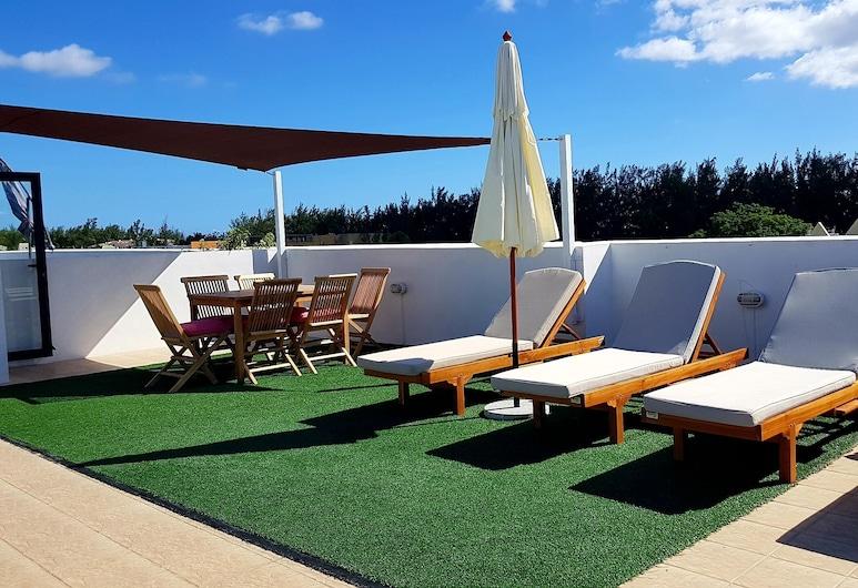 Sugareef West Coast Luxury Penthouse, Làng Flic-en-Flac, Sân thượng/sân hiên