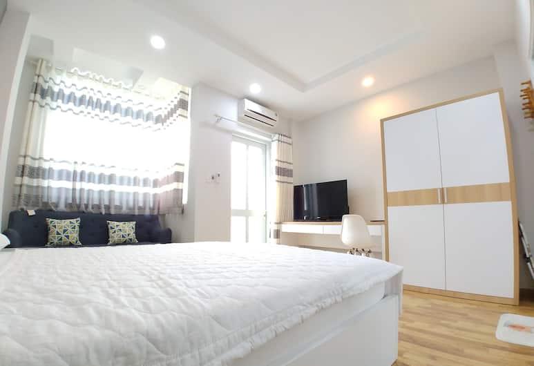 Four of a Kind Hostel, Hočiminovo mesto, Dvojlôžková izba, súkromná kúpeľňa, Hosťovská izba