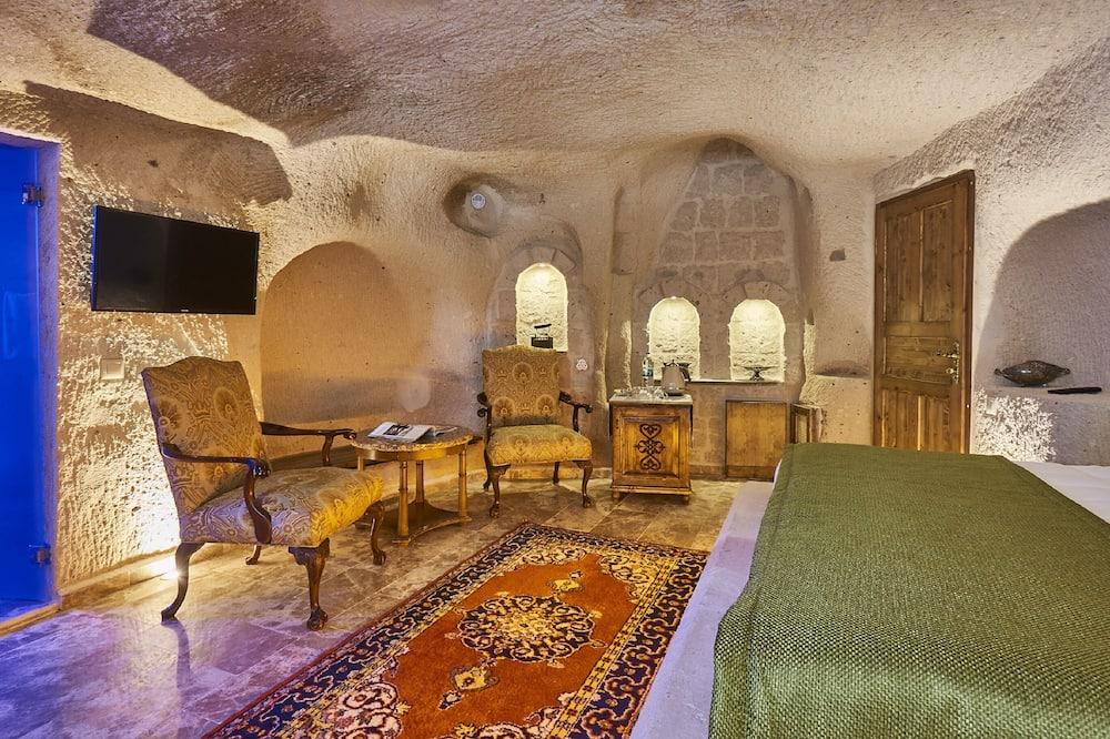 Premier Cave Room - Living Area